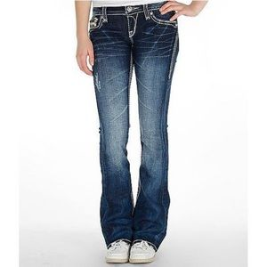 Rock Revival Alanis Boot Flare Distressed Jeans